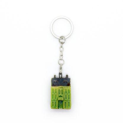 Брелок «Зеленый домик»